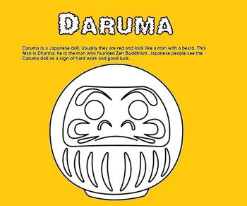 Japanese Goal setting - Daruma