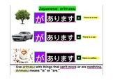 Japanese Grammar Explanation Arimasu あります