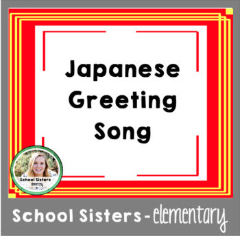 Japanese greeting song lesson plan by bee a learner tpt japanese greeting song lesson plan m4hsunfo
