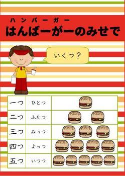 Japanese: Hamburger Shop - a unit for teaching and learning