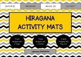 Japanese Hiragana Activity Mats