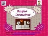 Japanese: Hiragana Interactives