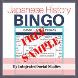 Japanese History BINGO Free Sample