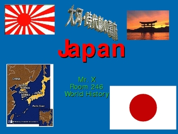 Japanese History Powerpoint Presentation