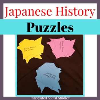 Japanese History Puzzles