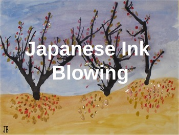 Japanese Ink Blowing