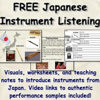 Japanese Instrument Listening Unit