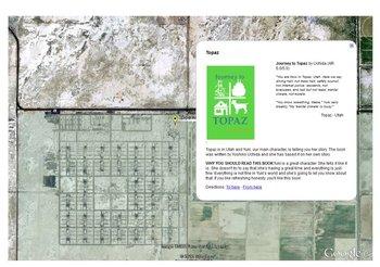 Japanese Internment Camp Exploration on Google Earth