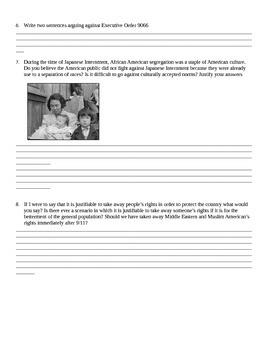 Japanese Internment / Executive Order 9066