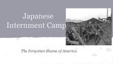 Japanese Internment Mini-Lesson