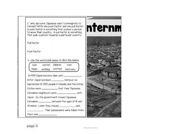 Japanese Internment - Past Canadian Discriminatory Laws