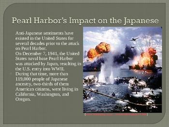 Japanese Internment Powerpoint