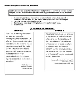 Japanese Internment: U.S. Policy During WWII