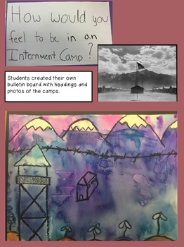 Japanese Internment Unit: Reading, Writing, Art