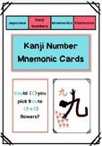 Japanese Kanji Number Mnemonics