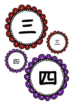 Japanese: Kanji number cards