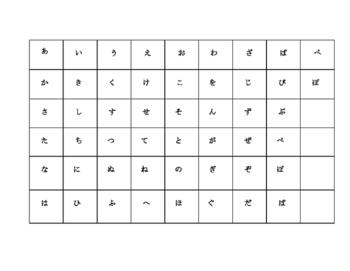 Japanese Language Game