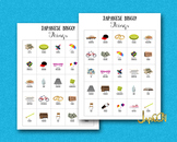 Japanese Learning with Pictures for Kids – Bingo Cards