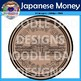 Japanese Money Clip Art (Yen, Currency, Asia, Coins, Cash, Bills)