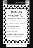 Japanese: Monkey Number Flap Sheet
