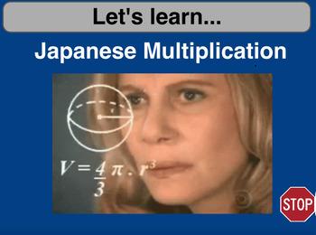 Japanese Multiplication Flipchart and Activities