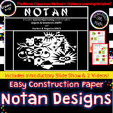 Japanese Notan Cut Paper Designs-Shape,Space & Balance- Di