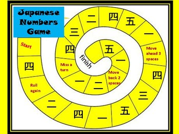 Japanese Numbers Games