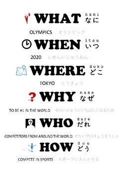 Japanese Olympic Games Unit PDF version