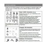 Japanese Pronounciation, Katakana, Write Your Name printables and worksheet