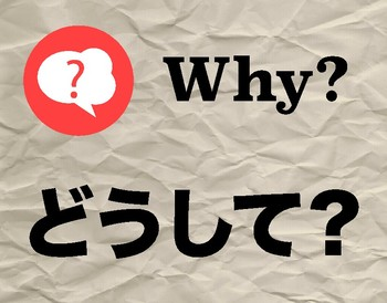 Japanese Question Word Poster