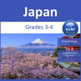 Around the World: Japan Reading Passages: 3-4 grade