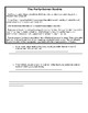 Japanese Samurai Bushido Primary Source worksheet