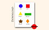 Japanese Shapes Learning Material for Kids JP06