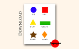 Japanese Shapes Learning Material for Kids JP06