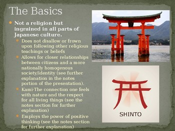 Japanese Shinto - Reverse Engineer Example Project PPT