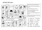 Japanese Sports Vocab Dice Game