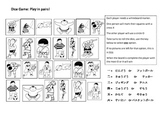 Japanese Sports Vocab Dice Game