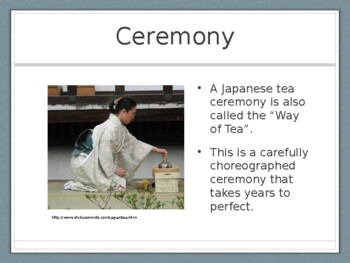 Japanese Tea Bowls Presentation