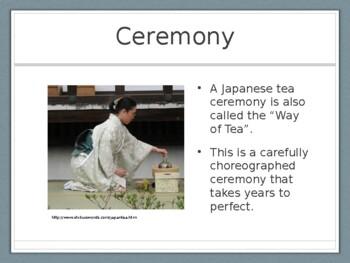 Japanese Tea Bowls Presentation