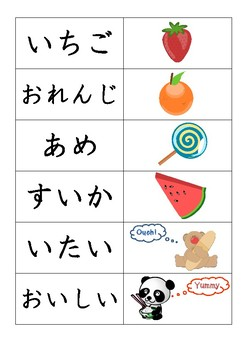 Japanese : The Very Hungry Caterpillar Flash Cards - HIRAGANA : はらぺこあおむし