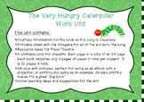 Japanese : The Very Hungry Caterpillar Work Unit- HIRAGANA