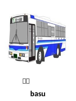 Japanese Transport Flashcards