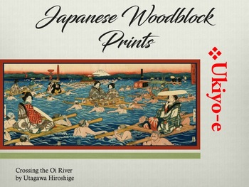 Intro to Japanese Woodblock Prints Power Point