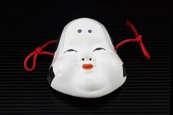 Japanese photo - ornamental face