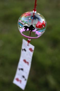 Japanese photos - wind chime