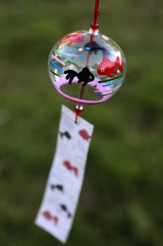Japanese photos - wind chime