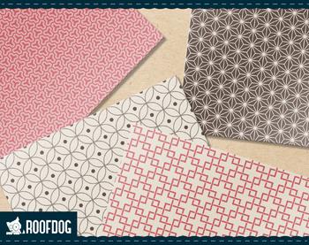 Japanese style digital paper