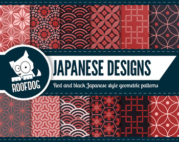 Japanese style digital paper