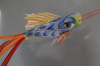 Japan's Childrens Day Carp Kite