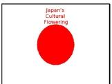 Japan's Cultural Flowering PPT